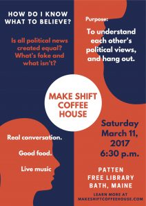 6:30pm To 10:00pm, Patten Free Library, 33 Summer Street, Bath, Maine